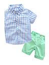 Băieți Seturi Altele Bumbac Vară Manșon Scurt Set Îmbrăcăminte