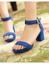 Damă Sandale Confortabili Gladiator Vară Piele nubuc Casual Negru Rosu Verde Albastru 5 - 7 cm