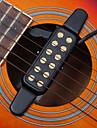 профессиональный Звуковое отверстие преобразователь Pickup 12 Hole Гитара Акустическая гитара Классическая гитара Металл Веселье