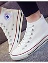 Damă Pantofi Pânză Primăvară Toamnă Confortabili Adidași Pentru Casual Alb Negru Rosu Albastru