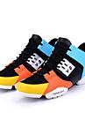 Erkek Ayakkabı Örümcek Ağı Bahar / Sonbahar Yenilikçi Atletik Ayakkabılar Koşu Atletik / Günlük / Dış mekan için Malzeme Kombini Beyaz / Siyah / Turuncu