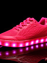 Damă Adidași Confortabili Pantofi Usori Microfibră PU sintetică Toamnă Iarnă Casual Party & Seară Dantelă Toc Plat Alb Verde Roz Plat