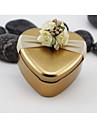 Rotund / Pătrat Fier (placat cu nichel) Favor Holder cu Imprimare Cutii de Savoare / Sticle și Borcane pentru Dulciuri / Cutii de Cadouri