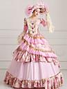 Asistent / vrăjitoare Prințesă Regină Costume Cosplay Halloween Crăciun Carnaval An Nou Festival/Sărbătoare Costume de Halloween Roz