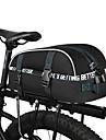 Torba rowerowa 8LTorby rowerowe na bagażnik Reflective Strip Rain-Proof Wodoodporny zamek Torba na rower Torba rowerowa