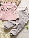 Fete Seturi Mată Altele Bumbac Primăvară Toamnă Mânecă Lungă Set Îmbrăcăminte