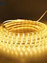 18m / 1buc 220v 5050 a condus lumina bandă flexibilă xmas frânghie de benzi în aer liber grădină impermeabil în aer liber lightingeu priza