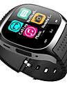 bluetooth έξυπνο ρολόι νέο m26 αδιάβροχο smartwatch βηματόμετρο anti-χαθεί μουσική player ios android τηλέφωνο pk a1 dz09