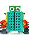 Robotar Byggklossar Leksaker Robotar Enkel Fjärrkontroll Utbilding Elektrisk GDS (Gör det själv) Mjuk plast Barn Present 1pcs