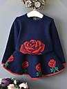 Fete Seturi Jacquard Celofibră Toamnă Iarnă Manșon Lung Set Îmbrăcăminte