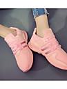 Pentru femei Pantofi Pânză Primăvară Vară Confortabili Adidași pentru Casual Alb Negru Roz