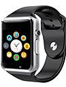a1 armbandsur bluetooth smart titta sport pedometer med sim kamera smartwatch för android smartphone