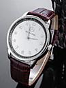 Bărbați de Copil Ceas Sport Ceas La Modă Ceas de Mână Unic Creative ceas Ceas Casual Chineză Quartz Rezistent la Apă Piele Bandă Creative