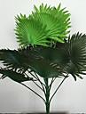 60cm 1 buc. 15 frunze / pc decoratiuni interioare plante artificiale verzi plante de iarnă