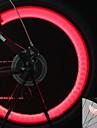 Cykellyktor hjul lampor Blinkande ventil LED Cykelsport bakgrundsbelysning Cellbatterier Lumen Batteri Cykling Motorcykel