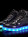 Băieți Pantofi Piele Originală / Materiale Personalizate Toamnă Confortabili / Pantofi Usori Adidași Dantelă / Cârlig & Buclă / LED pentru