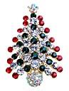 Pentru femei Broșe - Ștras Copacul Vieții Simplu, Dulce Broșă Auriu / Argintiu Pentru Crăciun / Cadou