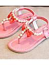 Flickor Skor Konstläder Vår Sommar Komfort Sandaler Till Casual Guld Purpur Rosa