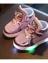 Fete Pantofi PU Toamnă Iarnă Confortabili Adidași Pentru Casual Auriu Argintiu Fucsia Roz