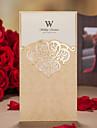 Șal & Buzunar Invitatii de nunta Invitații Stil Clasic Hârtie Reliefată