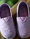 Flickor Skor Kanvas Vinter Höst Komfort Loafers & Slip-Ons för Casual Vit Purpur Gul