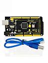 1pcs keyestudio mega 2560 r3 1pcs cablu usb pentru arduino mega 2560 r3 / avr