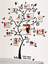 väggdekorationer Väggdekaler, älskar träd fotoram klistermärken eva väggdekorationer