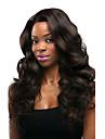 Remy-hår Spetsfront Peruk Kinesiskt hår Kroppsvågor Med babyhår 130% Densitet 100% Jungfru Afro-amerikansk peruk Naturlig hårlinje Mellan