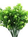Flori artificiale 2 ramură Pastoral Stil Hydrangeas Față de masă flori