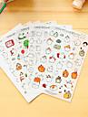 6 buc / set de desene animate grasime de iepure autocolant autocolant autocolant autocolant scrapbook