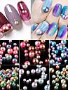 1 Nail Smycken Rund Mode Vackert Söt Hög kvalitet Dagligen Nail Art Design