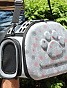 Chat Chien Sac de transport Animaux de Compagnie Transporteur Respirable Amour Gris Rose