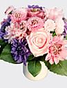 """8.0 Gren Silke Plast Roser Prästkragar Bordsblomma Konstgjorda blommor 7.48""""X11.8"""""""