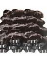 Brasilianskt hår Klassisk Kroppsvågor Hårförlängning av äkta hår 8pcs Hög kvalitet 0.4 Dagligen