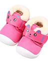 Bebeluș Pantofi Țesătură Toamnă Iarnă Confortabili Primii Pași Pantofi Flați Pentru Casual Maro Roz