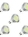 5pcs 3W 260-300 lm E14 LED-spotlights E14 / E12 16 lysdioder SMD 5630 LED ljus Varmvit Vit AC 220-240V