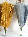35cm 10 buc aur / argint acasă decorare fier artificiale frunze ventilator formă ierburi