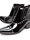 Bărbați Pantofi Piele Iarnă Toamnă Cizme de Combat Cizme la Modă Cizme Cizme/Cizme la Gleznă Sclipici Strălucitor pentru Nuntă Party &