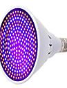 1 buc 25W 1700lm E26 / E27 Culoarea becului crescând 260 LED-uri de margele SMD 5733 Decorativ Albastru Roșu 85-265V