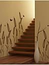 Botanisk Väggklistermärken Väggstickers Flygplan Dekrativa Väggstickers, Vinyl Hem-dekoration vägg~~POS=TRUNC Vägg