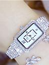 Γυναικεία Πολυτελή Ρολόγια Ρολόι Καρπού Diamond Watch Ιαπωνικά Χαλαζίας Ανοξείδωτο Ατσάλι Ασημί / Χρυσό 30 m Καθημερινό Ρολόι Αναλογικό κυρίες Φυλαχτό - Χρυσό Ασημί