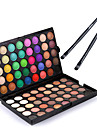 Eyeshadow Palette Makeup Brushes Eyeshadow Brush Ammonia Free Formaldehyde Free Makeup Dry Matte Shimmer Long Lasting 80 Colors Cosmetic Grooming Supplies