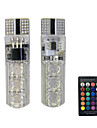 T10 Bilar Glödlampor 1.5W W SMD 5050 110lm lm 6 Blinkers ForUniversell