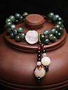 Pentru femei Bratari Strand Brățară Onyx Jad Vintage Elegant Jadeite Mărgele Bijuterii Pentru Nuntă Zilnic