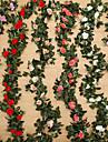 Kunstbloemen 1 Tak Moderne Style Bruiloft Rozen Planten Bloemen voor op tafel