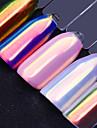 1pcs Poudre de paillettes Classique Haute qualite Quotidien Nail Art Design