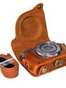 Digital Kamera-Fodral- tillCanon-En-axel- medDammsäker-Svart Röd Kaffe Brun