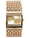 Γυναικεία Πολυτελή Ρολόγια Βραχιόλι Ρολόι Μοναδικό Creative ρολόι Χαλαζίας Ανοξείδωτο Ατσάλι Ασημί / Χρυσό Ανθεκτικό στο Νερό Χρονογράφος Καθημερινό Ρολόι Αναλογικό Βραχιόλι Κομψό Χριστούγεννα -