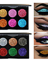 6 Colors Eyeshadow Palette / Powders EyeShadow Formaldehyde Free Convenient Daily Makeup / Halloween Makeup / Party Makeup Makeup Cosmetic / Shimmer
