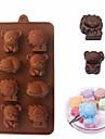 Pepparkaksformar För Godis Kakor Tårta för choklad Kaka Kiselgel GDS (Gör det själv) alla hjärtans dag Födelsedag 3D Bakning Verktyg